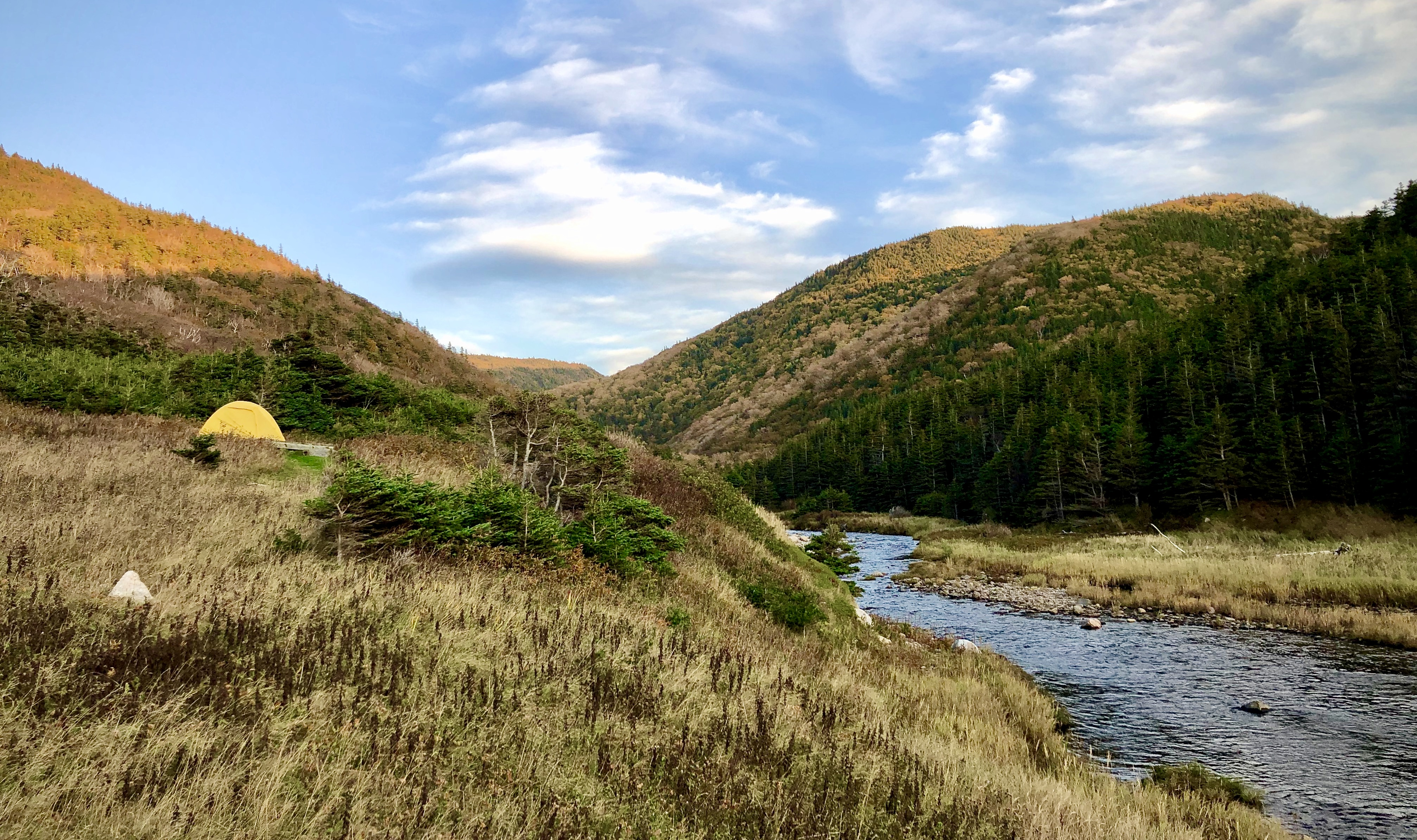 In the Backcountry: Camping at Fishing Cove, Cape Breton Highlands National Park